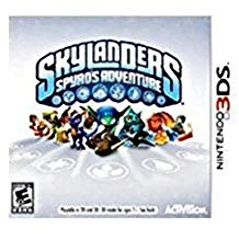 3DS: SKYLANDERS SPYROS ADVENTURE (SOFTWARE ONLY) (COMPLETE)